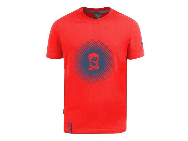 TROLLKIDS Pointillism T-Shirt Kids red/navy